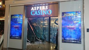 Aspers Casino Entrance
